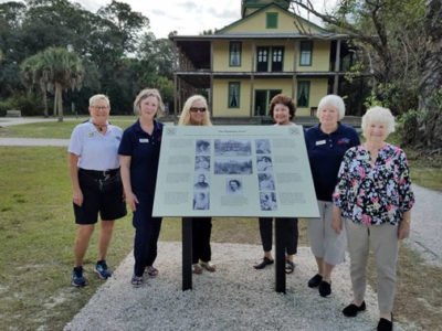 New signage for Koreshan State Park