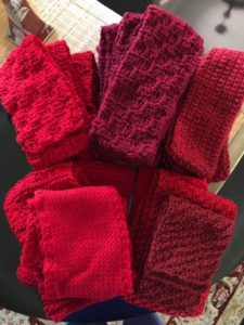 Red Scarf Challenge - part of Operation Gratitude